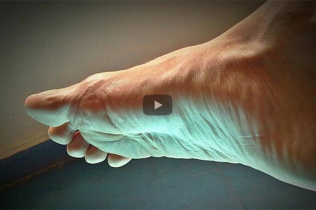 Zeig mir Deinen Fuß, und ich sage Dir, wie es Dir geht. Der Fuß als persönlicher Bodyguard