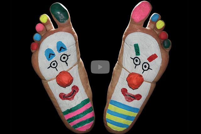 Sprechende Füße