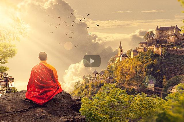 Glück ist das Resultat von Meditation und unserem ruhigen Geist