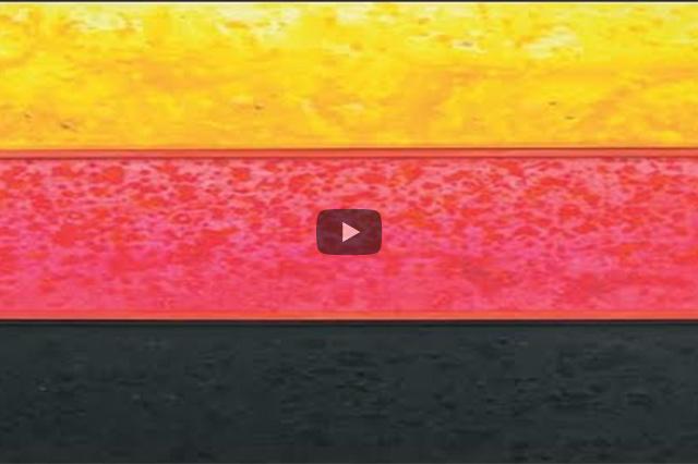 Mary Bauermeister: Gold–Rot–Schwarz – die deutsche Flagge vom Kopf auf die Füße gestellt